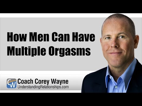 Can a man have an orgasm through