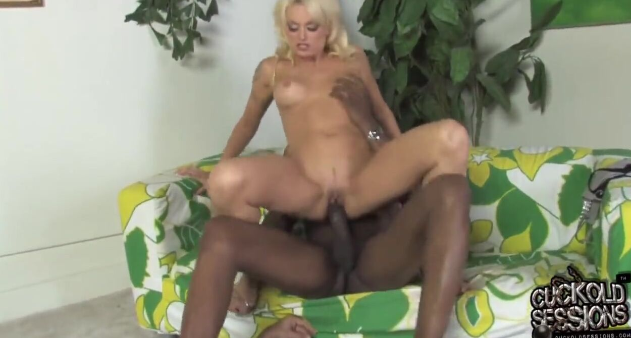 Black wife fucked in front of husband