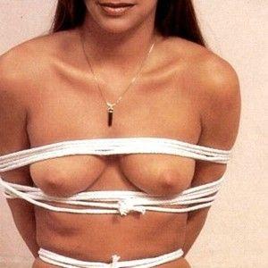 Pics of nude brides in garters belts