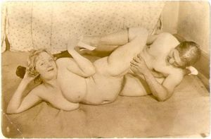 Threesome wife on top husband on bottom