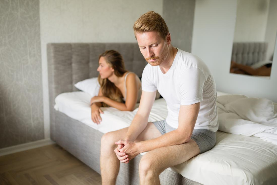 Can not having sex cause erectile dysfunction