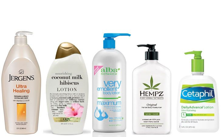 Best body lotion for mature dry skin