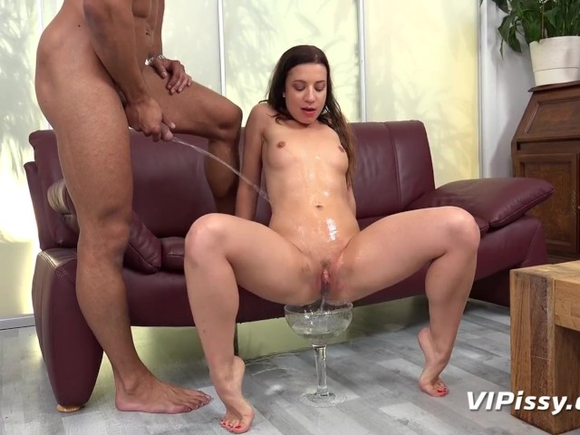 Big boob girls pissing while having sex
