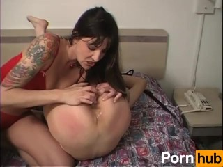 She stuffed a dildo up my ass