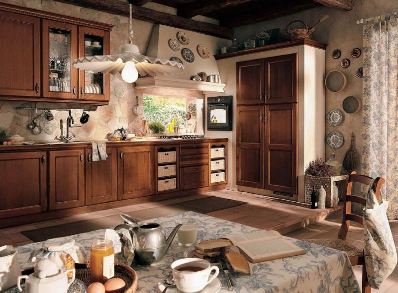 Images of vintage style homes and interior