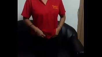 Ebony polo shirt amateur blowjob at work