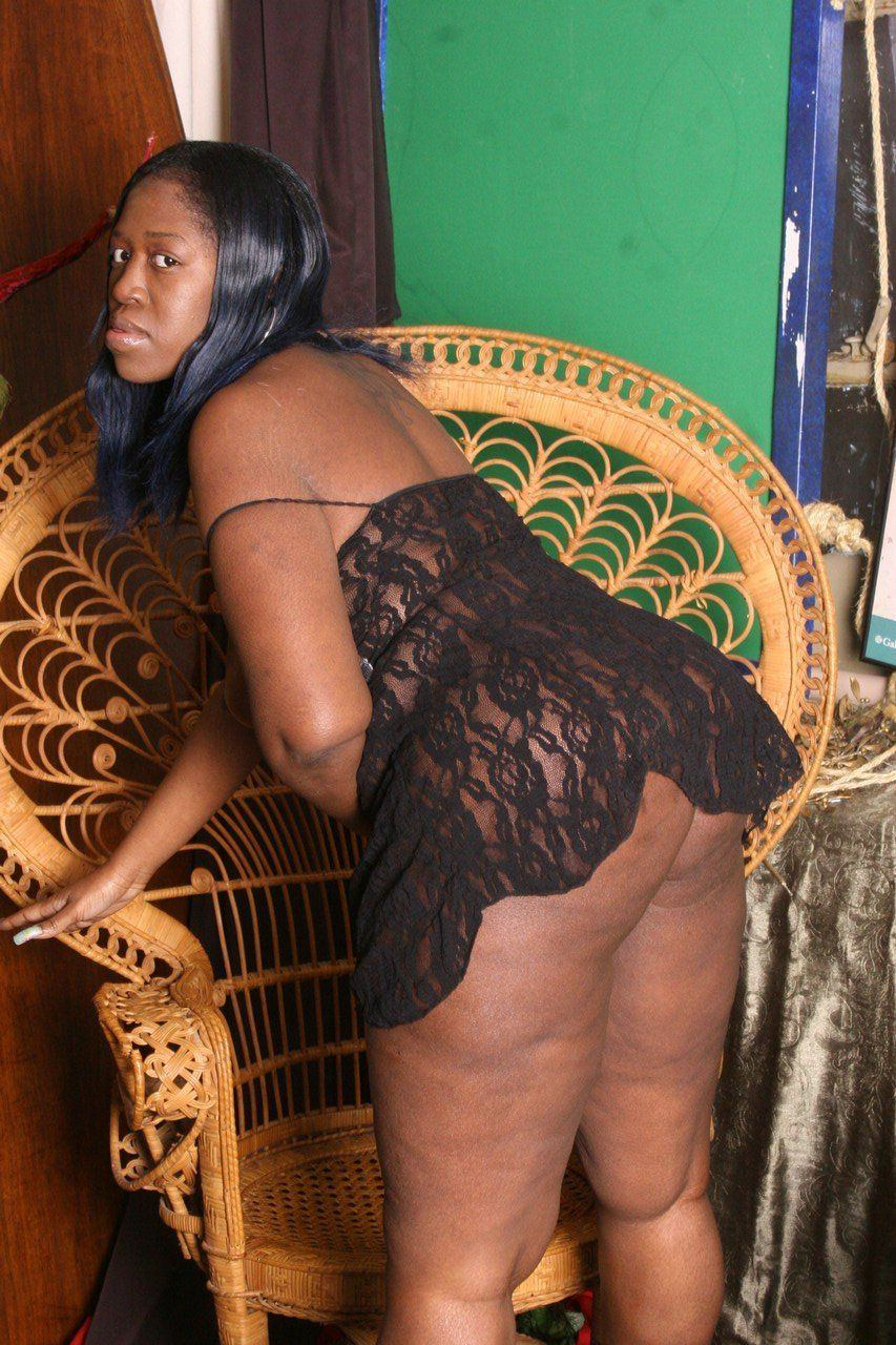 Ass big black her lady pic thick