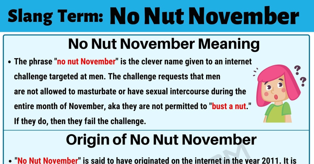 What does bust a nut mean sexually