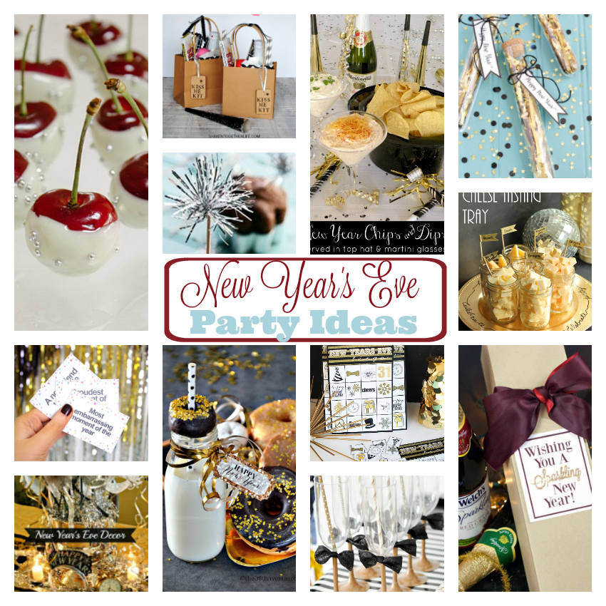 New years eve party ideas for adults