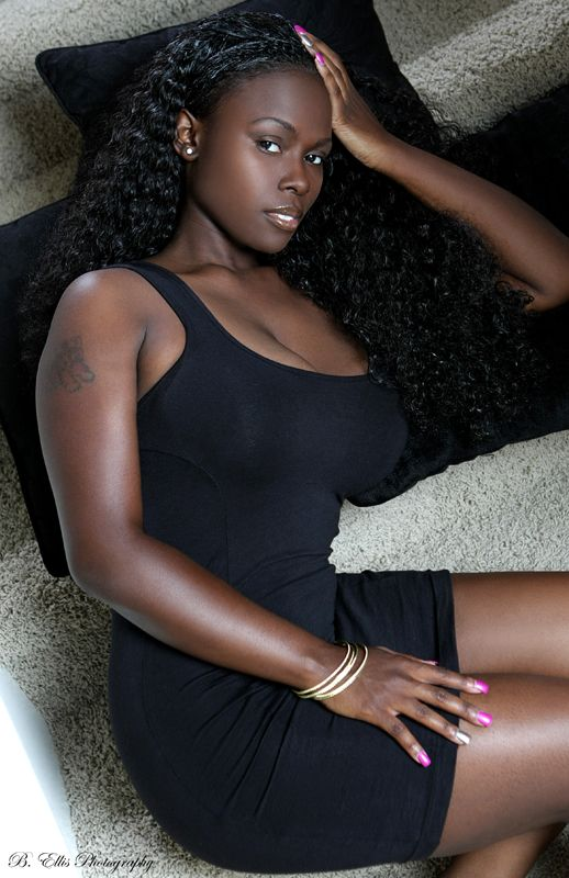 Dark sexy african amateur from the congo