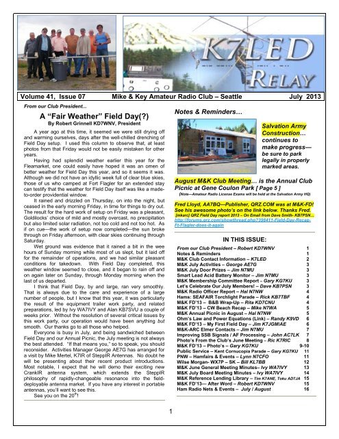 Black river amateur radio association swap meet