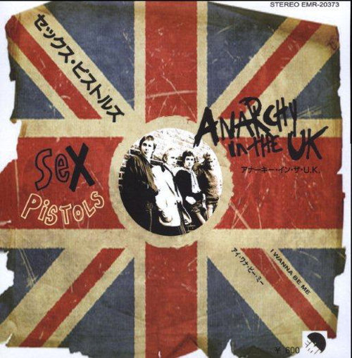 Sex pistols anarchy in the uk single