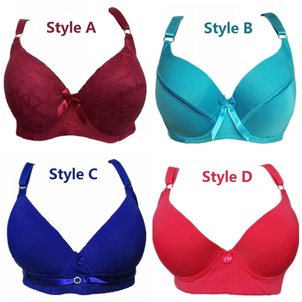 Sexy push up bras for full figures