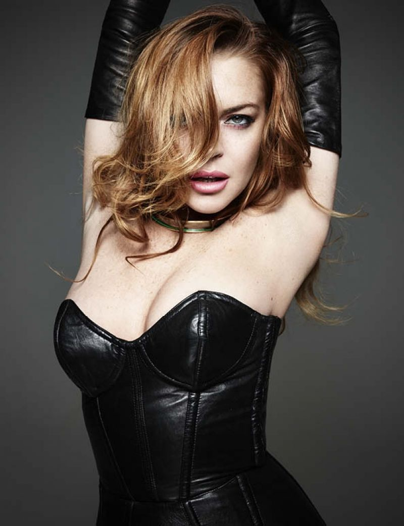 Lindsey lohan nude in new yorker magazine