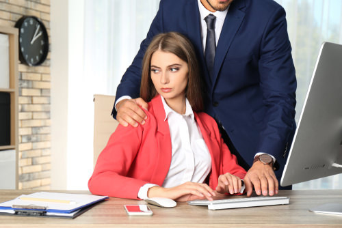 Third party sexual harassment hostile work environment