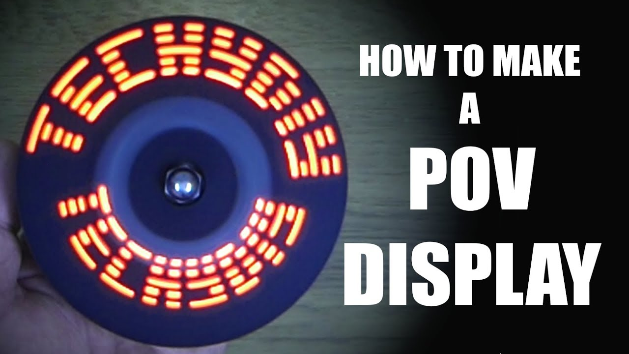 How to make pov display at home