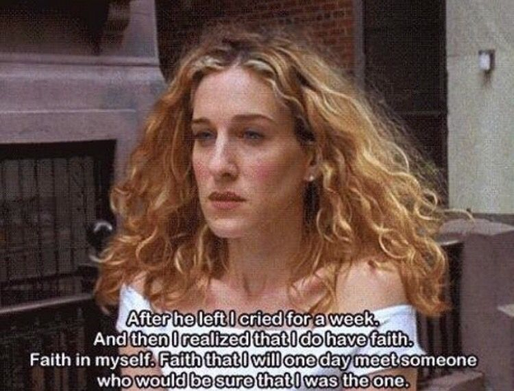 Carrie bradshaw quotes sex and the city