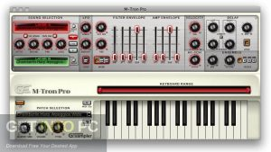 Gforce m tron pro virtual vintage keyboard