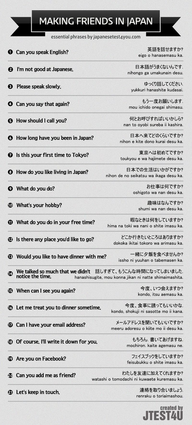 What can i call you in japanese