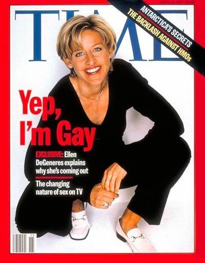 Is ellen degeneres a gold star lesbian